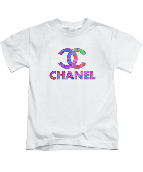 Chanel Paint Design Kids T-Shirt