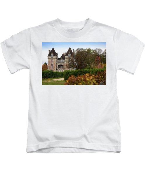 Chateau, Near Beynac, France Kids T-Shirt