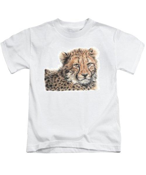 Cheetah Cub Kids T-Shirt