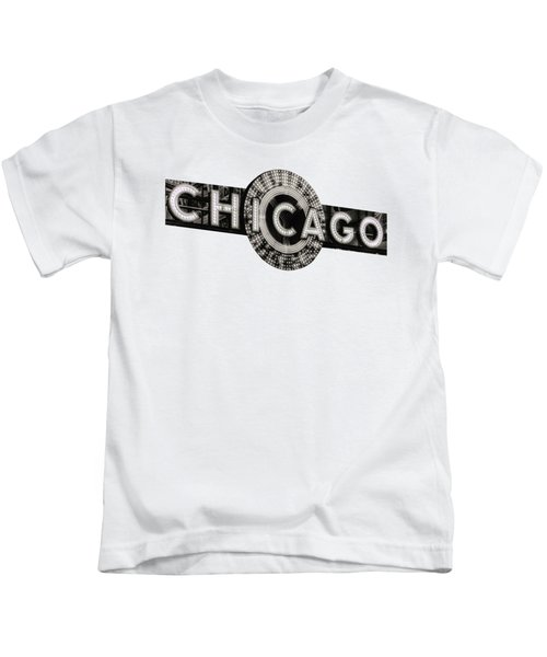 Chicago Theater Marquee - T-shirt Kids T-Shirt