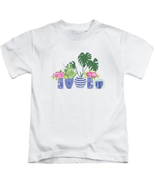 Chinoiserie Garden Kids T-Shirt