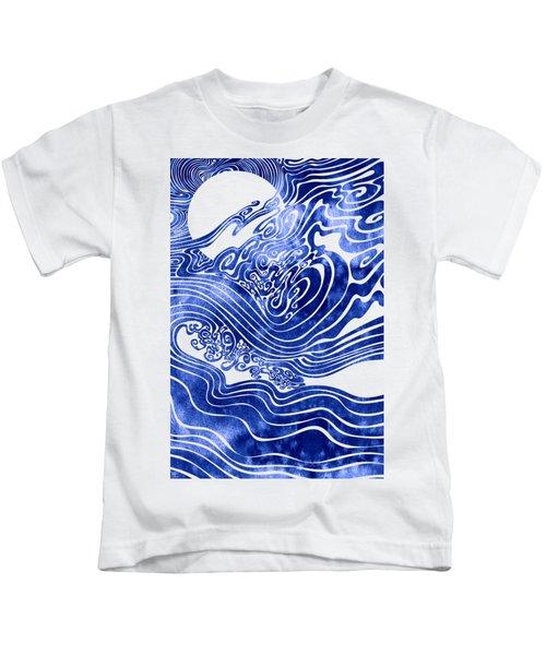 Churn The Deep Kids T-Shirt