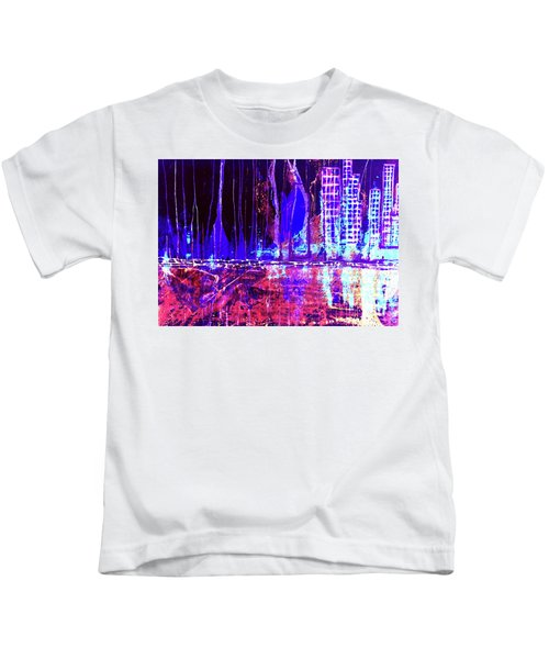 City By The Sea L Kids T-Shirt
