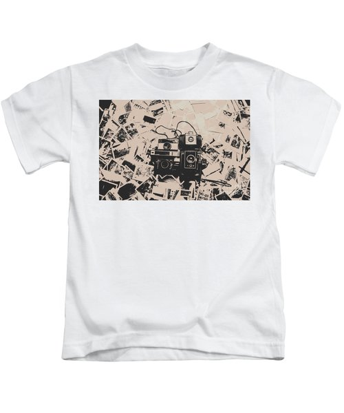 Classic Cameras And Captures Kids T-Shirt
