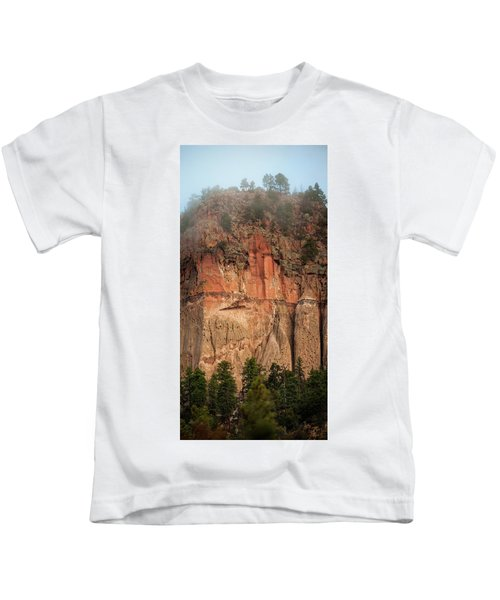 Cliff Face Kids T-Shirt
