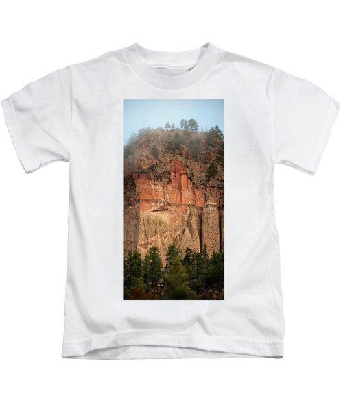 Cliff Face Kids T-Shirt