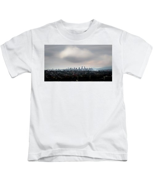 Cloud On Vancouver  Kids T-Shirt
