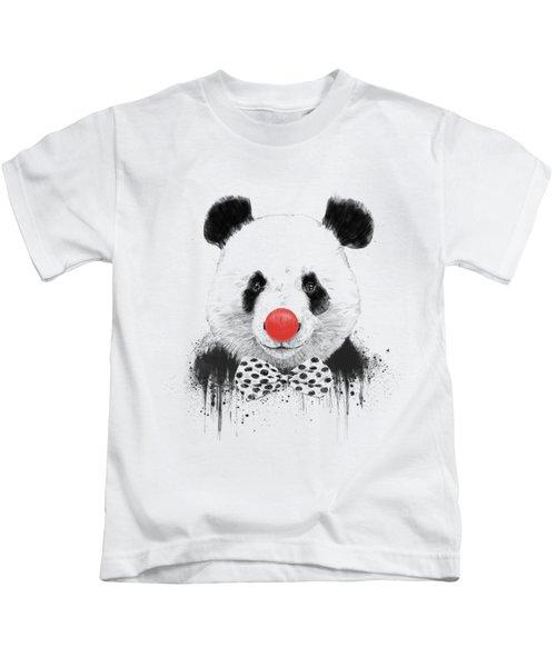 Clown Panda Kids T-Shirt