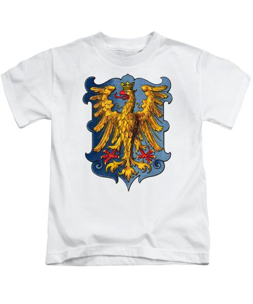 Coat Of Arms Of The Duchy Of Friuli Kids T-Shirt