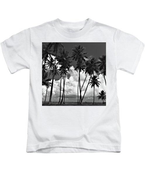 Coconut Trees At Mayaro Kids T-Shirt
