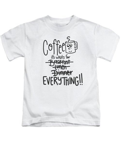 Coffee1 Kids T-Shirt