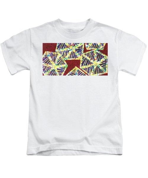 Colourful Webs  Kids T-Shirt