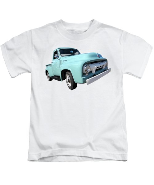 Cool As Ice - 1954 Ford F-100 Glacier Blue Kids T-Shirt