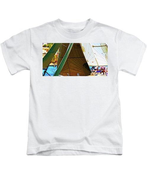 Crossing Sails Kids T-Shirt