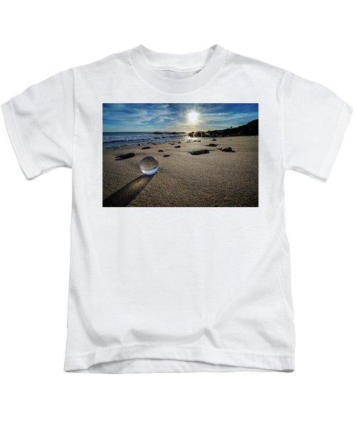 Crystal Ball Sunset Kids T-Shirt