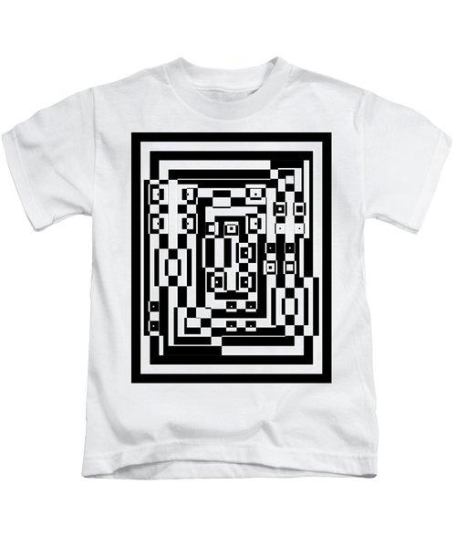 Cubical Cubes  Kids T-Shirt