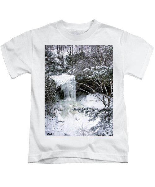 Cucumber In Winter Kids T-Shirt