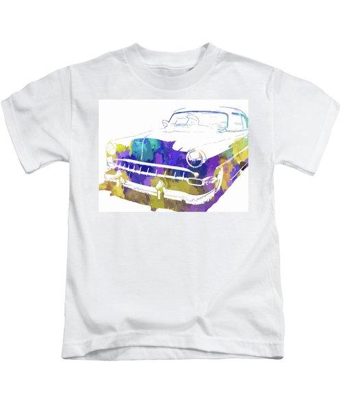 Custom 1954 Chevy Abs Inv Kids T-Shirt