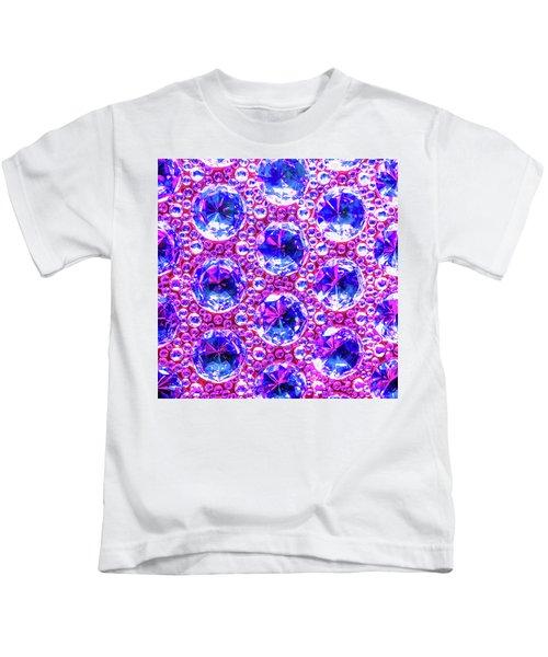 Cut Glass Beads 4 Kids T-Shirt
