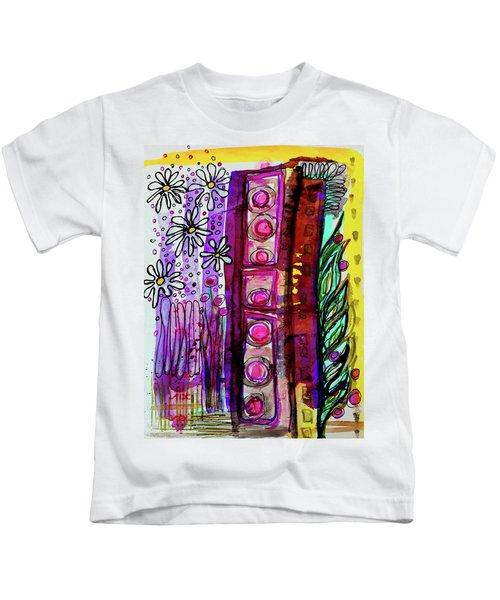 Daisy Field Kids T-Shirt