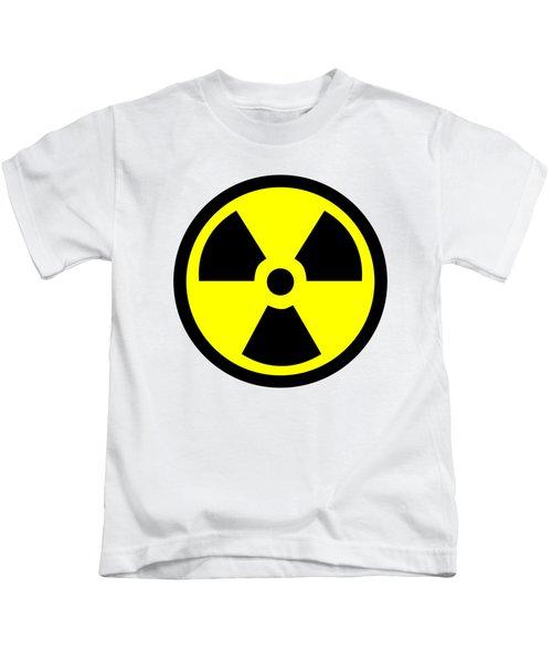 Danger Radiation Sign - Efb256 Kids T-Shirt