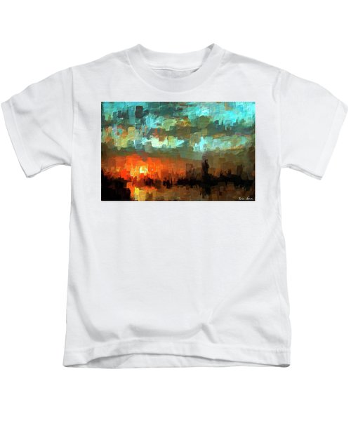 Detroit Days End Kids T-Shirt