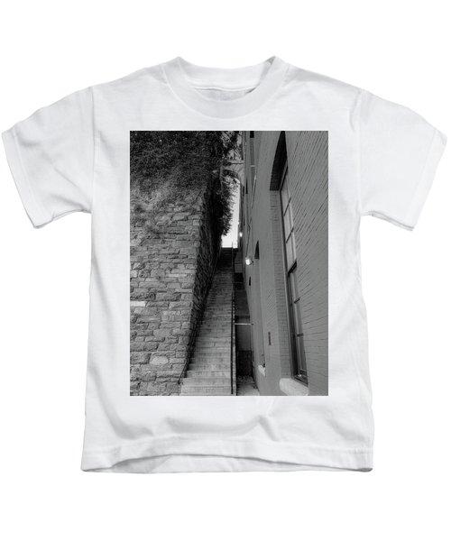 Does Evil Lurk Above? Kids T-Shirt