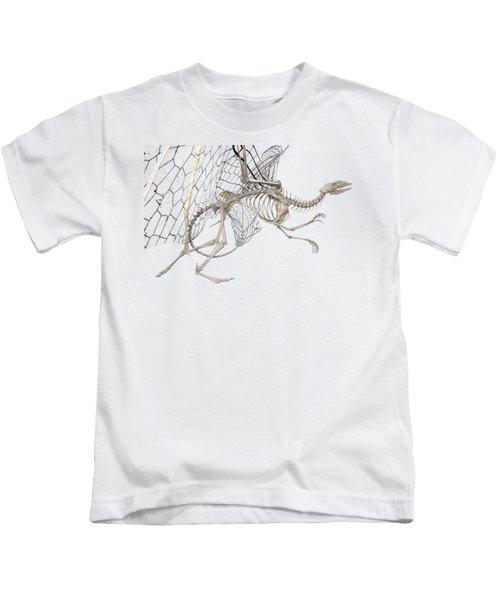 Dragon Skeleton  Kids T-Shirt