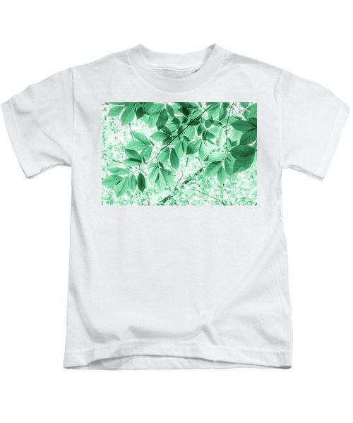 Dreaming Of Summer In Paolo Veronese Green Kids T-Shirt