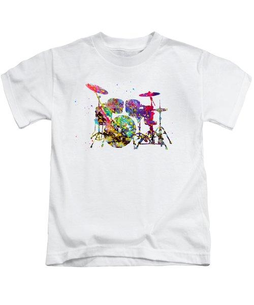 Drums-colorful Kids T-Shirt