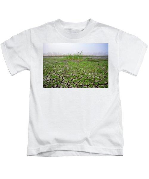 Dry Duck Pond Kids T-Shirt