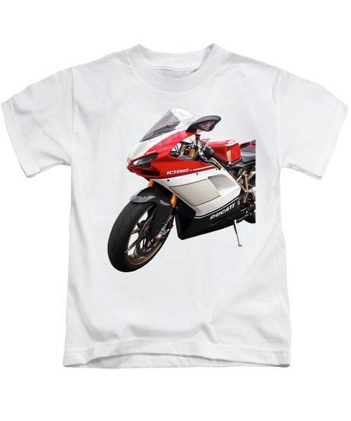 Ducati 1098s Motorcycle Kids T-Shirt