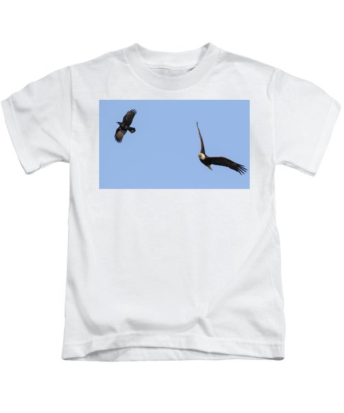 Eagle And Crow  Kids T-Shirt