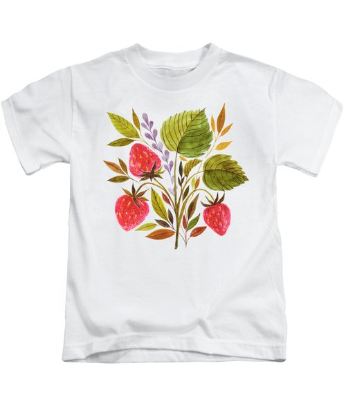 Early Summer Strawberries Are The Sweetest Kids T-Shirt