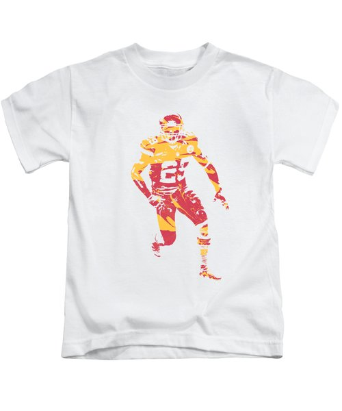 Eric Berry Kansas City Chiefs Apparel T Shirt Pixel Art 1 Kids T-Shirt