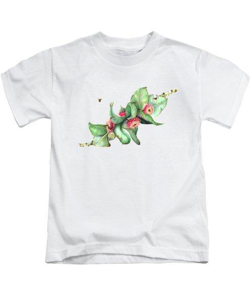 Eucalyptus Macrocarpa Kids T-Shirt
