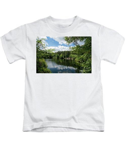 Euchee Creek Park - Grovetown Trails Near Augusta Ga 2 Kids T-Shirt