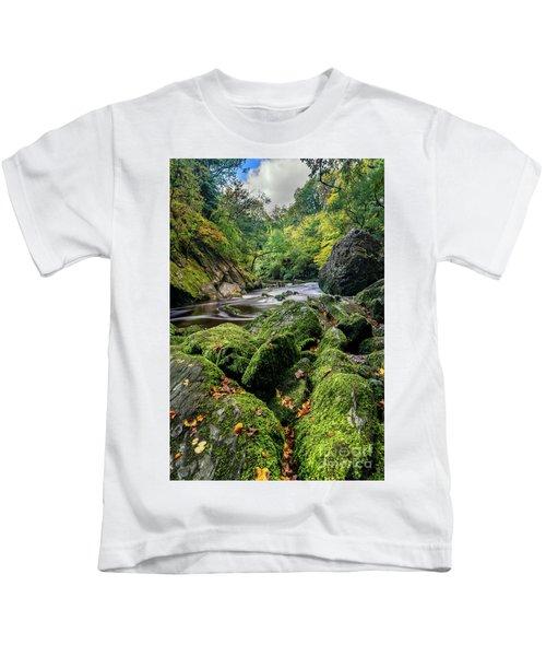 Fairy Glen Snowdonia Kids T-Shirt