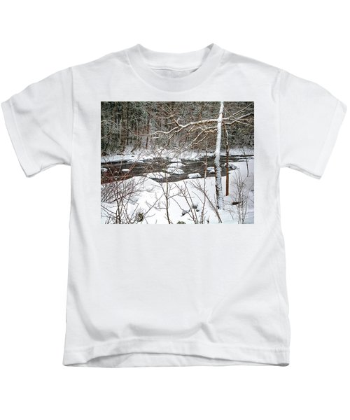 Farmington River - Northern Section Kids T-Shirt