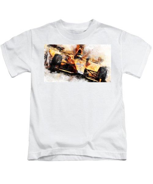 Fernando Alonso, Indy 500 - 04 Kids T-Shirt
