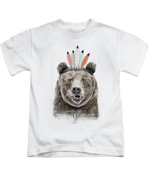 Festival Bear Kids T-Shirt
