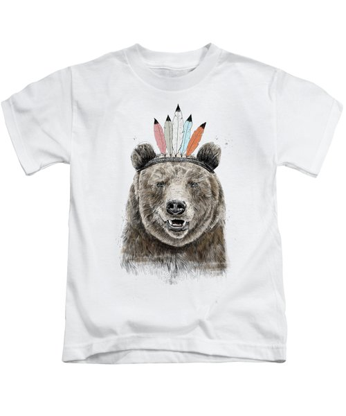 Festival Bear Kids T-Shirt