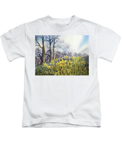 Field Of Hope At Burton Agnes Kids T-Shirt