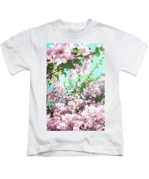 Floral Dreams Iv Kids T-Shirt