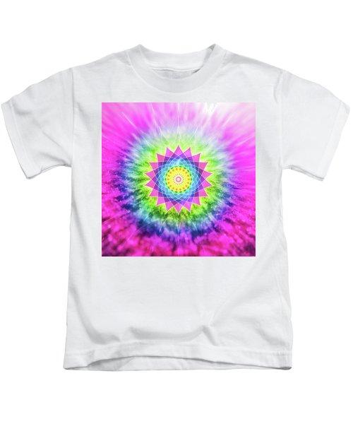 Flowering Mandala Kids T-Shirt