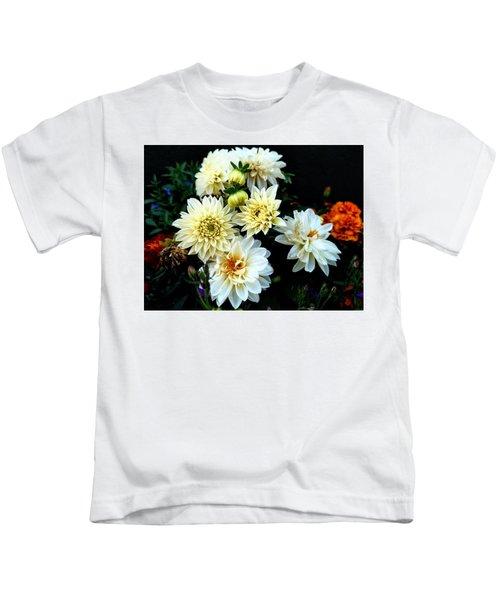 Flowers In The Garden Kids T-Shirt