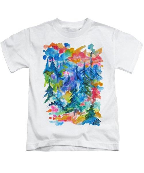 Forest Sunrise Kids T-Shirt
