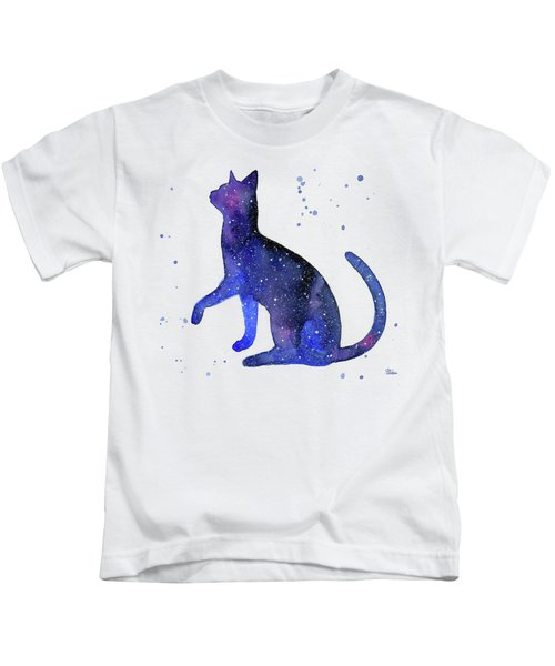 Galaxy Cat Kids T-Shirt