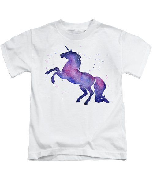 Galaxy Unicorn Kids T-Shirt