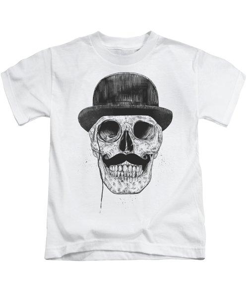 Gentlemen Never Die Kids T-Shirt